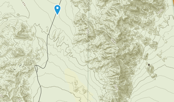 Death Valley Wilderness Map