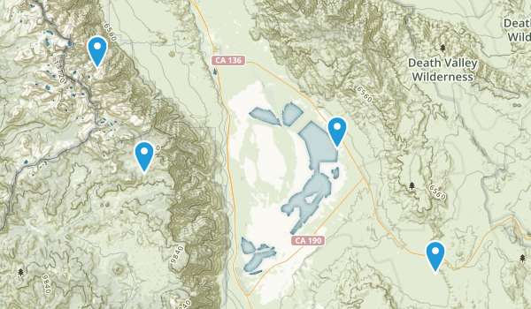 Inyo Mountains Wilderness Map