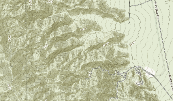Argus Range Wilderness Map