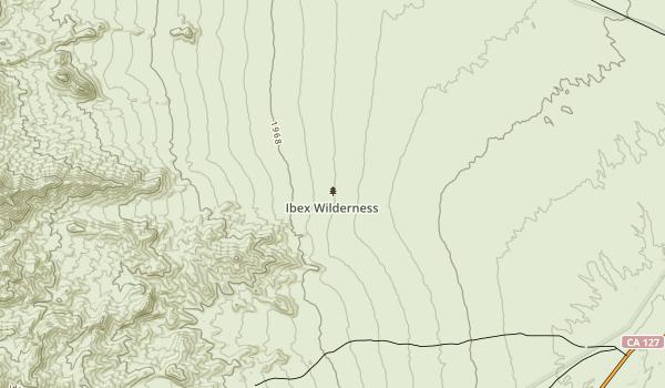 Ibex Wilderness Map