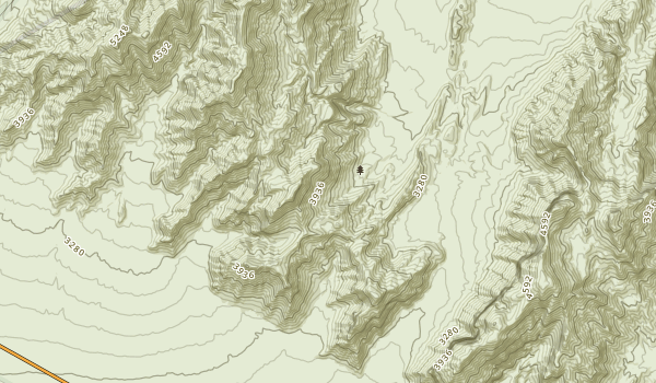 Funeral Mountains Wilderness Map