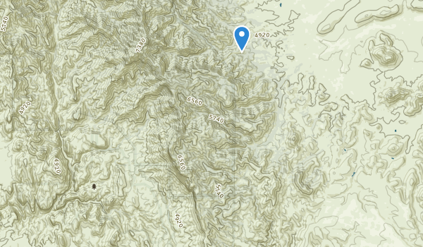 Redfield Canyon Wilderness Map
