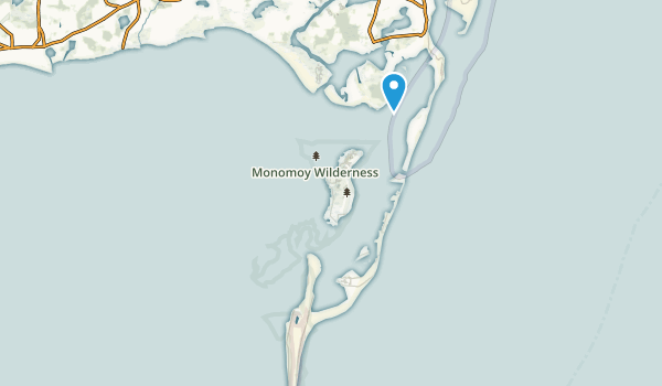 Monomoy Wilderness Map