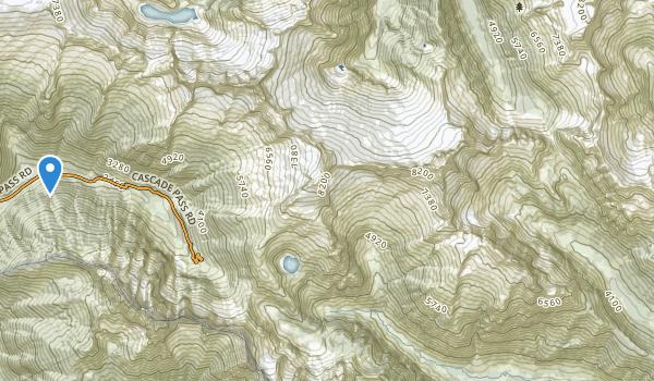 Stephen Mather Wilderness Map