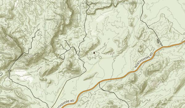 Muddy Mountains Wilderness Map
