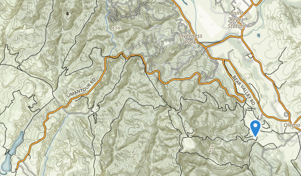 Phillip Burton Wilderness Map