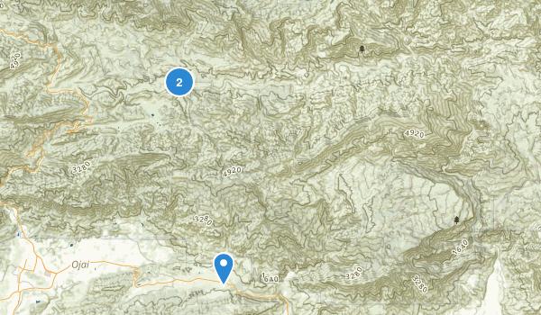 Sespe Wilderness Map