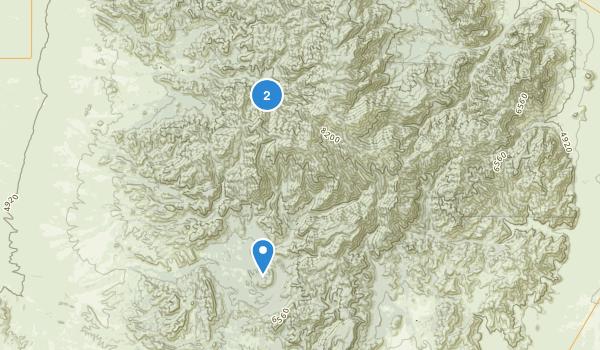 Chiricahua Wilderness Map