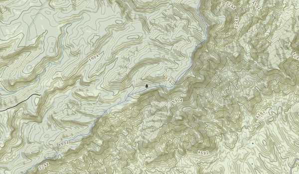 Pine Mountain Wilderness Map