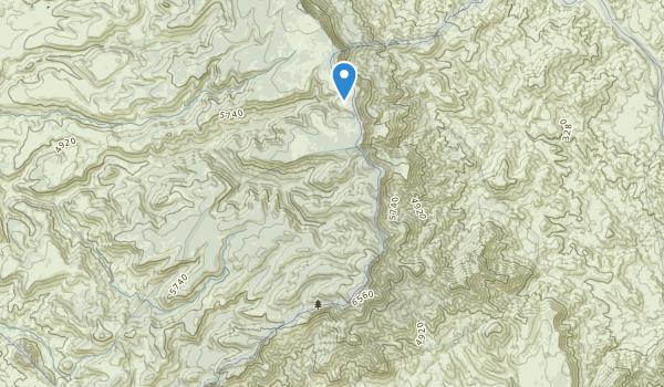 Pine Mountain Wilderness Map