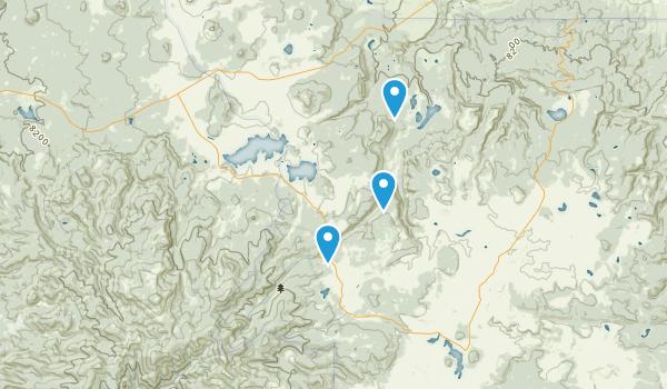 Mount Baldy Wilderness Map