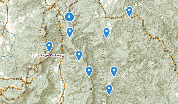 Linville Gorge Wilderness Map