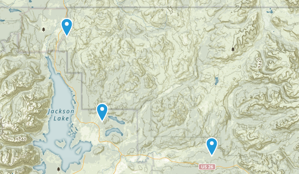 Teton Wilderness Map