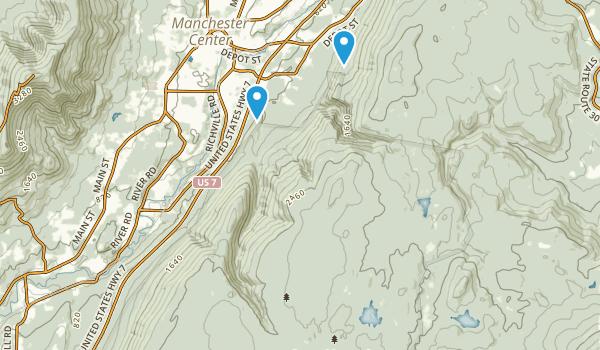 Lye Brook Wilderness Map
