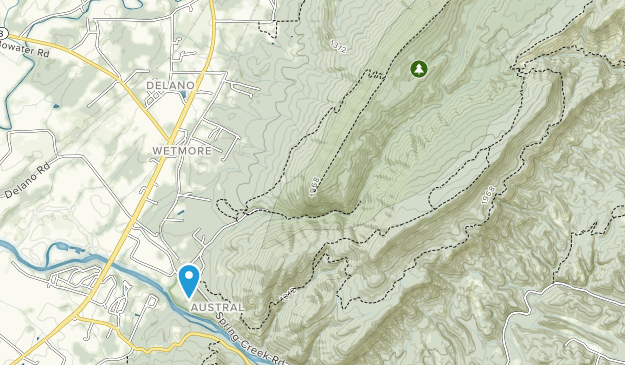 Gee Creek Wilderness Map