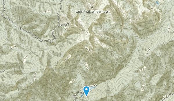 Latir Peak Wilderness Map