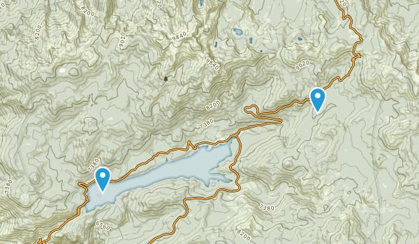 Kaiser Wilderness Map