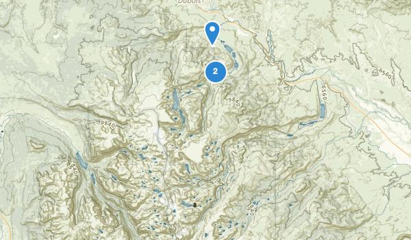 Fitzpatrick Wilderness Map