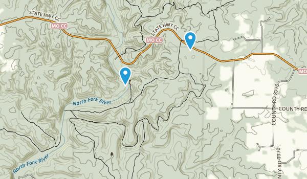 Best Trails In Devils Backbone Wilderness AllTrailscom - Us backbone map
