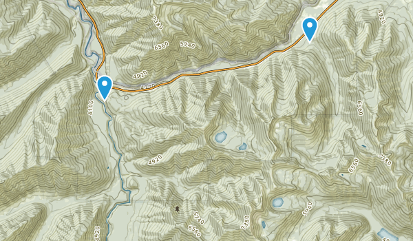 Great Bear Wilderness Map