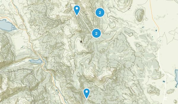 Buffalo Peaks Wilderness Map