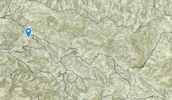trail locations for Garcia Wilderness