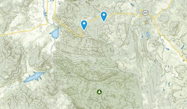 Sarvis Creek Wilderness Map