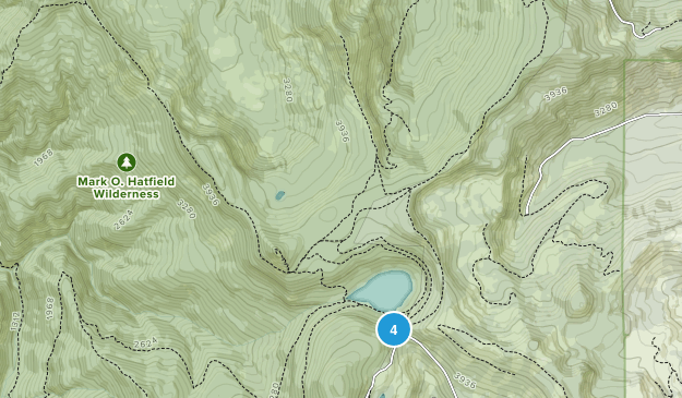 Mark O. Hatfield Wilderness Map