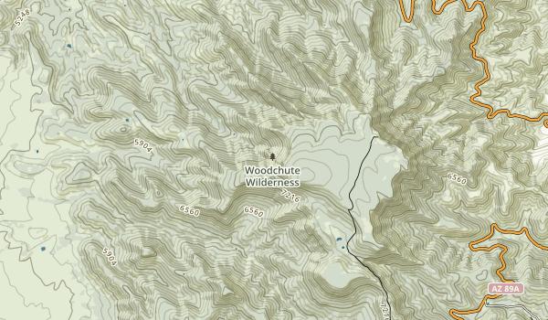 Woodchute Wilderness Map