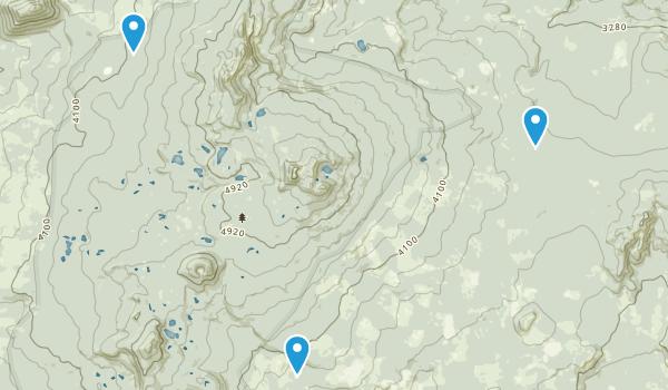 Indian Heaven Wilderness Map