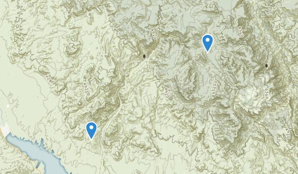 Salome Wilderness Map