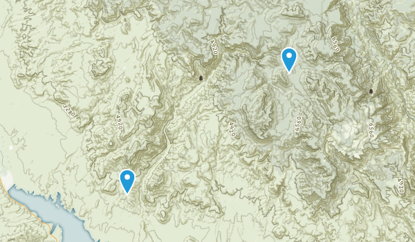 Salome Wilderness Map