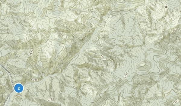 Mill Creek Wilderness Map
