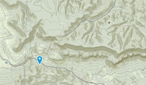 Juniper Mesa Wilderness Map