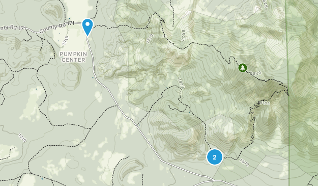 Kendrick Mountain Wilderness Map