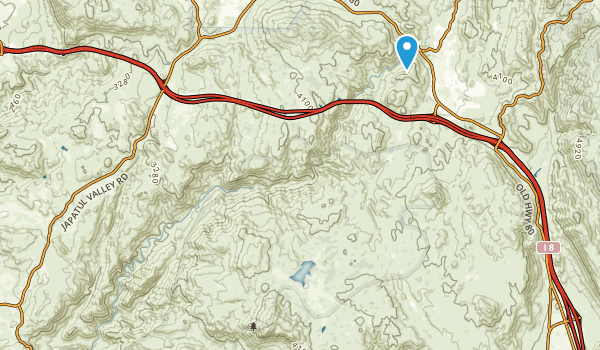 Pine Creek Wilderness Map