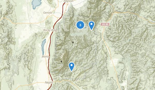 Mount Nebo Wilderness Map