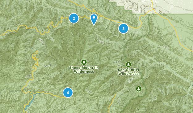 Sheep Mountain Wilderness Map