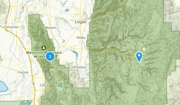 Wellsville Utah Map.Best Trails In Wellsville Mountain Wilderness Utah Alltrails