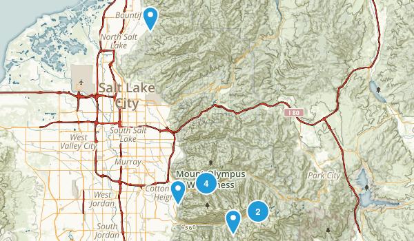 Twin Peaks Wilderness Map