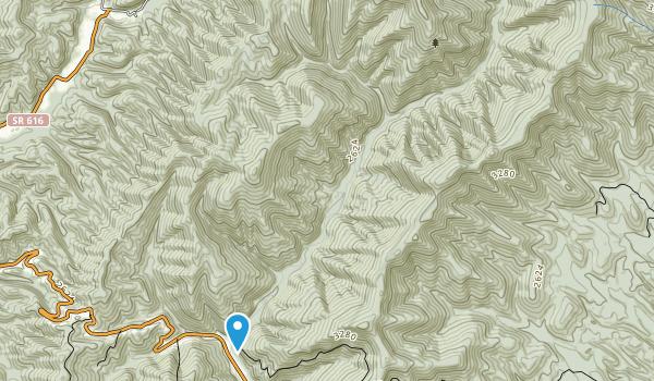 Ramseys Draft Wilderness Map
