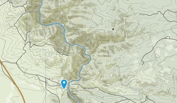 Platte River Wilderness Map