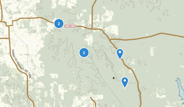 Little Lake Creek Wilderness Map