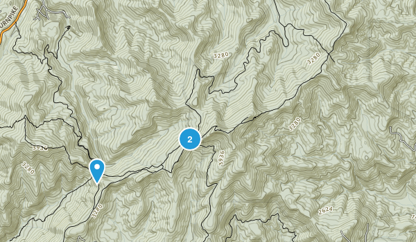Tray Mountain Wilderness Map