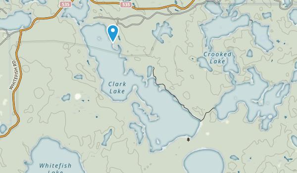 Sylvania Wilderness Map