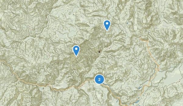 Boulder Creek Wilderness Map
