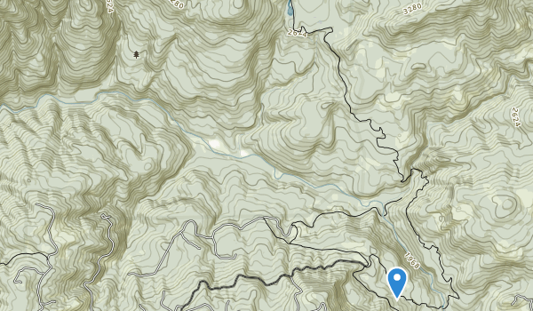 Middle Santiam Wilderness Map