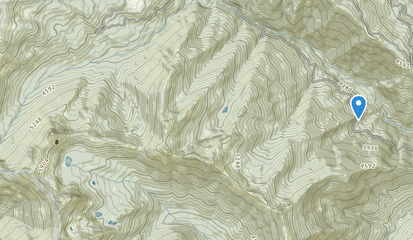 Red Buttes Wilderness Map