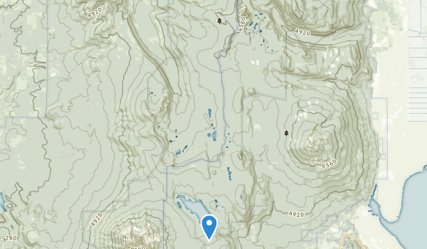 trail locations for Sky Lakes Wilderness