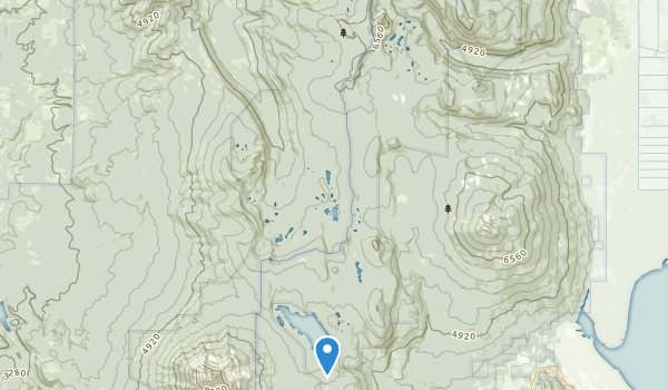 Sky Lakes Wilderness Map